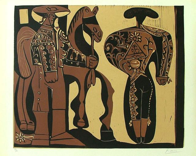 , 'Picador et Torero,' 1959, Alan Cristea Gallery