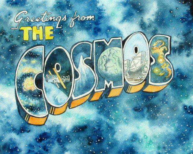 , 'Greetings from the Cosmos,' 2017, Ro2 Art