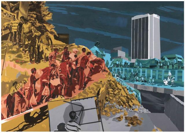 , 'Tırmanış Günlüğü / Climbing Journal,' 2014, Galeri Miz