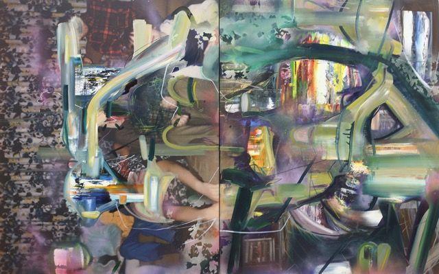 , 'Clarify Sham,' 2016, Mark Moore Fine Art