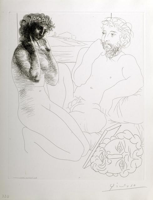 , 'Sculpteur et Modele Agenouille,' 1933, Odon Wagner Contemporary