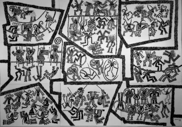 , 'A festa da música e dança tradicional na língua changana,' 2013, Galeria 111
