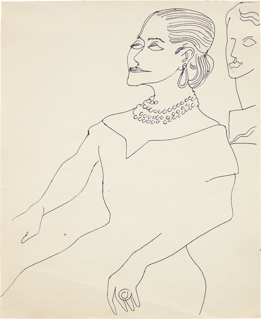 Andy Warhol, 'Helena Rubinstein', ca. 1957, Phillips