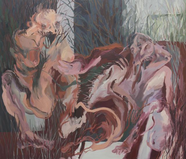 , 'Porcupine Couple II,' 2015, BERLIN BLUE art
