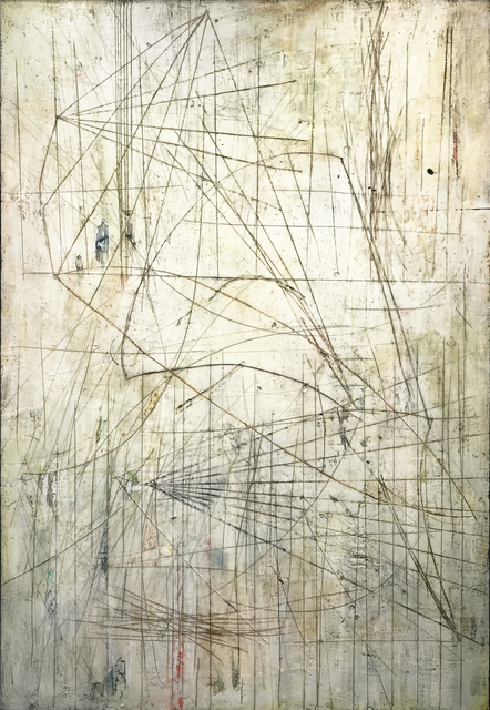 Mark Perlman, 'Slide', 2019, Painting, Encaustic on Panel, Nancy Toomey Fine Art
