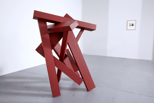 , 'Red Tuxedo (unique work),' 2016, SILAS VON MORISSE gallery