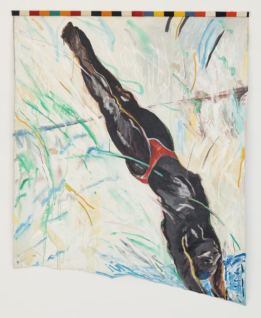, 'Diagonal Diver,' 1985, RYAN LEE