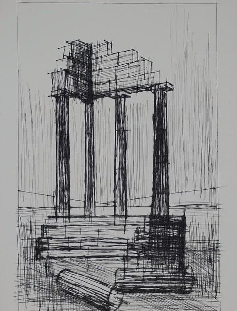 Bernard Buffet, 'Naples', ca. 1959, Samhart Gallery