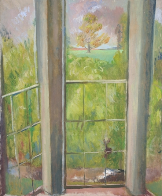 , 'View from a country house window,' ca. 1960, Robert Eagle Fine Art
