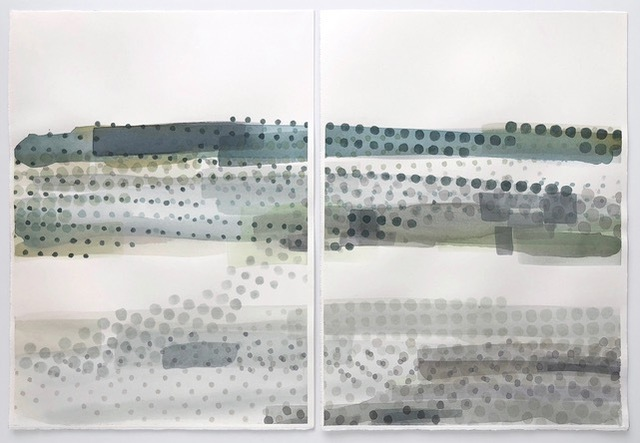 , 'California Mist 31-34,' 2017, Kala Art Institute