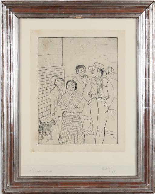 """Bruno Voigt, '""""Zigeuner""""', 1931, Art 1900"""