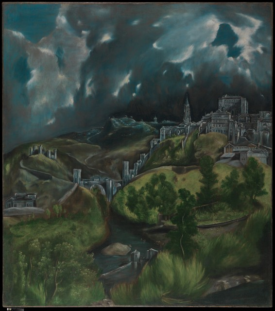 El Greco, 'View of Toledo', ca. 1599–1600, The Metropolitan Museum of Art