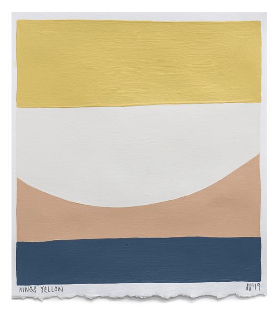 Scott Sueme, 'Kings Yellow', 2019, Uprise Art