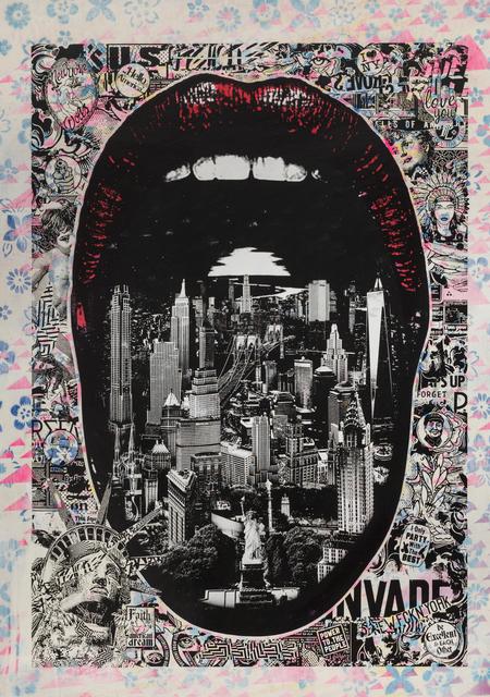 , 'Lick NY,' 2017, Jonathan LeVine Projects