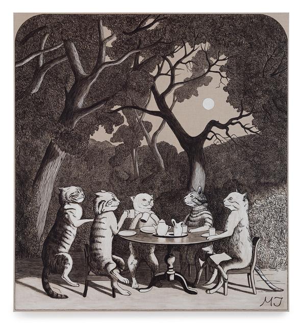 , 'Teatime under the moon,' 2018, Andréhn-Schiptjenko