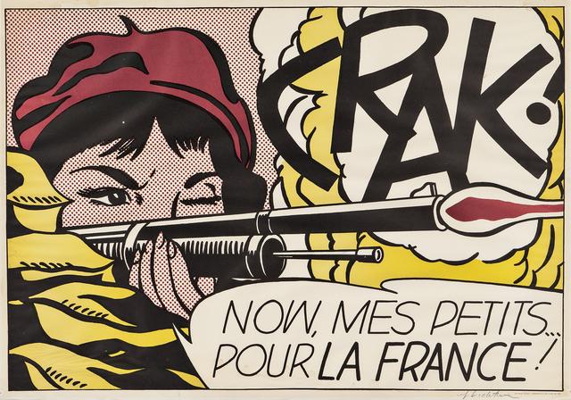Roy Lichtenstein, 'Crak!', 1964, Skinner