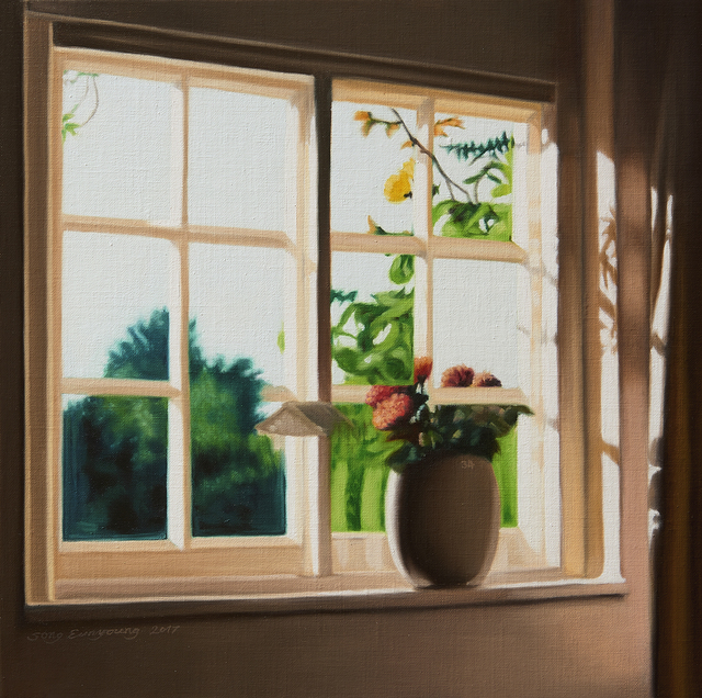 , '34 (a Vase and a Window),' 2017, Gallery BK