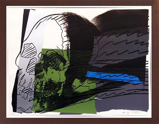Andy Warhol, 'Skulls FS II.160', Print, Screenprint on Strathmore Bristol Paper, Robin Rile Fine Art