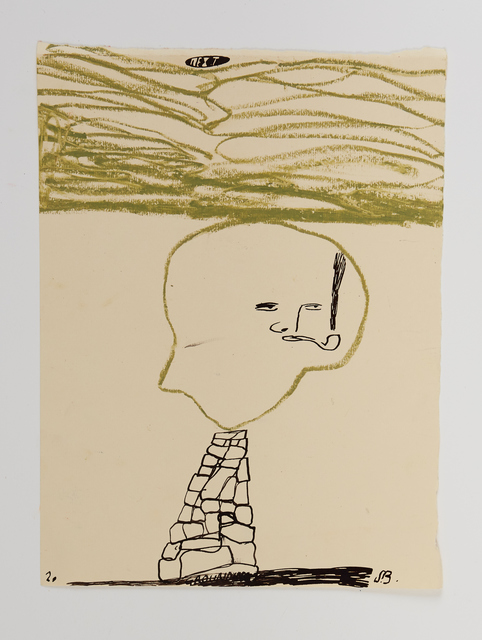 Samuel Bassett, 'Post Mining Landscape', 2020, Drawing, Collage or other Work on Paper, Work on paper, Vigo Gallery