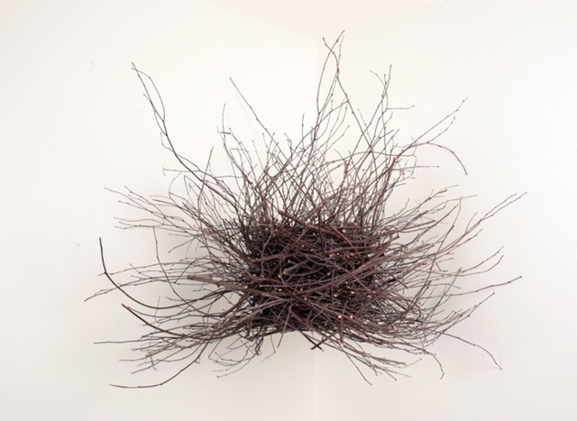 , 'Birch Nest,' 2015, InLiquid