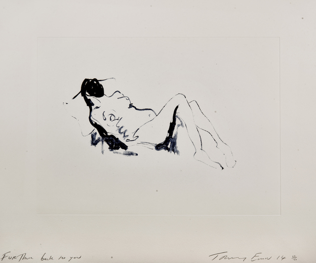 Tracey Emin, 'Further Back To You', 2014, Tate Ward Auctions