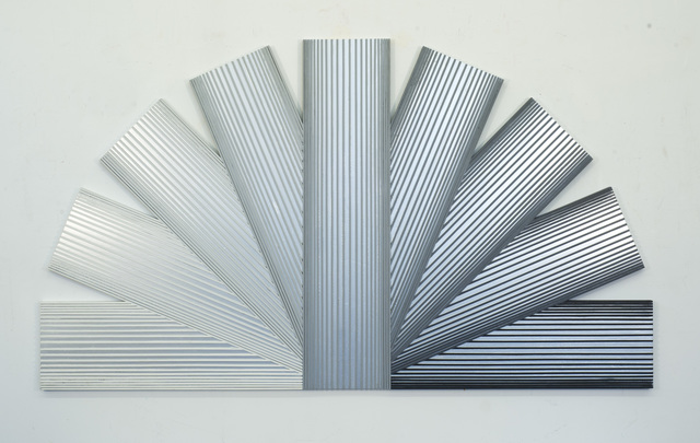 , 'Silver Rainbow with Grays,' 1989, Loretta Howard Gallery