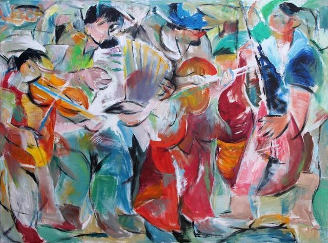 , 'Street Musician,' 2015, Monarch|Arredon Contemporary