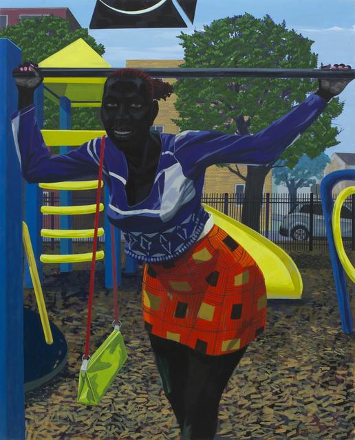 Kerry James Marshall, 'Untitled (playground)', 2015, Koplin Del Rio