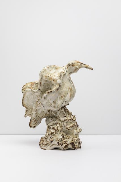 , 'Pale Drawn Glazed Bird,' 2018, Tayloe Piggott Gallery