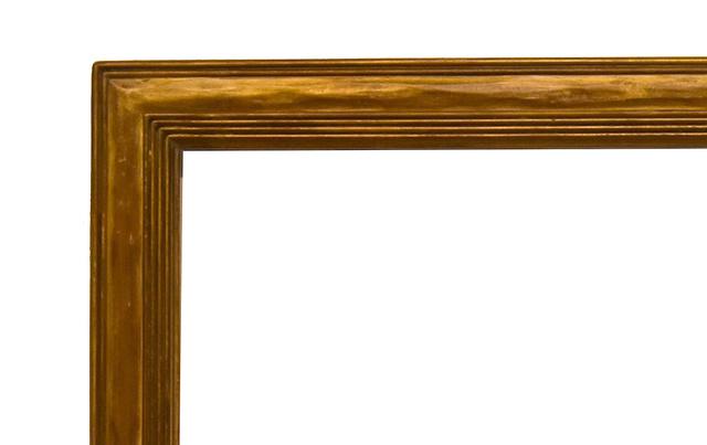 , 'American Newcomb-Macklin Metal Leaf Frame, ca. 1925 (25x30),' ca. 1925, Susquehanna Antique Company