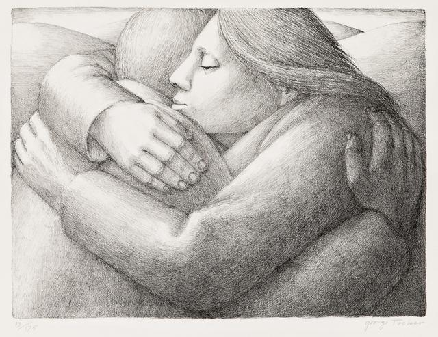 George Tooker, 'Embrace II', 1984, Skinner