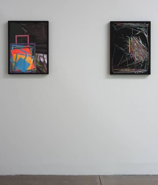 , 'Astro Bright #1 (left) and Astro Bright #2 (right), installation view,' 2011, di Rosa