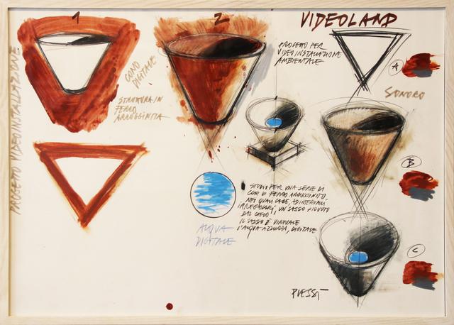 Fabrizio Plessi, 'Videoland VIII', 1987, Mario Mauroner Contemporary Art Salzburg-Vienna