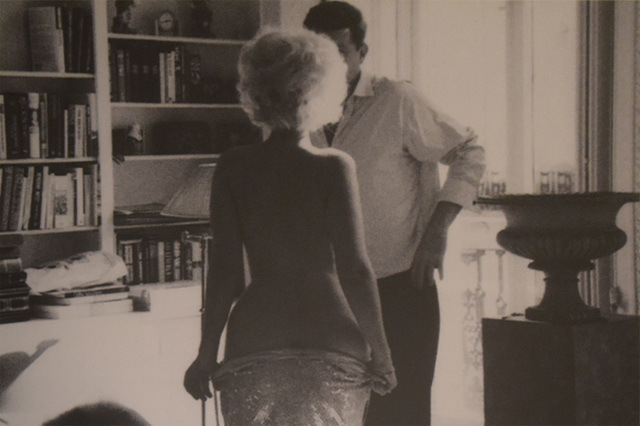 , 'Marilyn Undressing for JFK,' 2012, HG Contemporary
