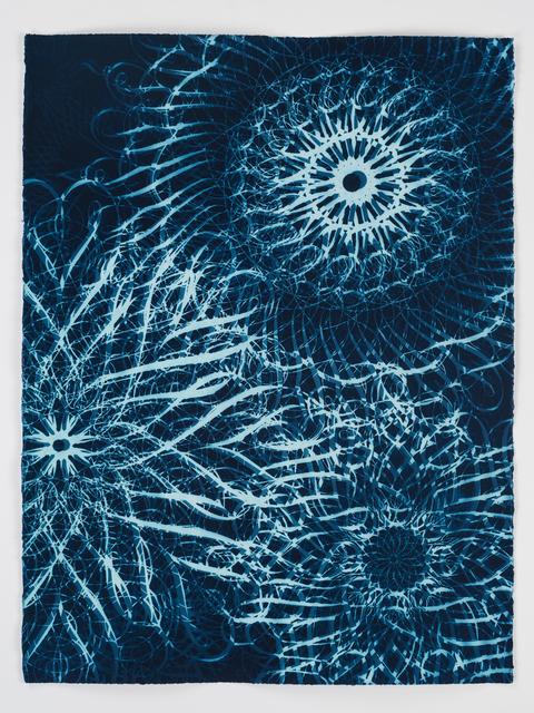 , 'Dark Energy Cyanotype 07,' 2015, Quint Gallery