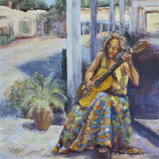 , 'Plaza Melody,' 2018, Joshua Tree Art Gallery