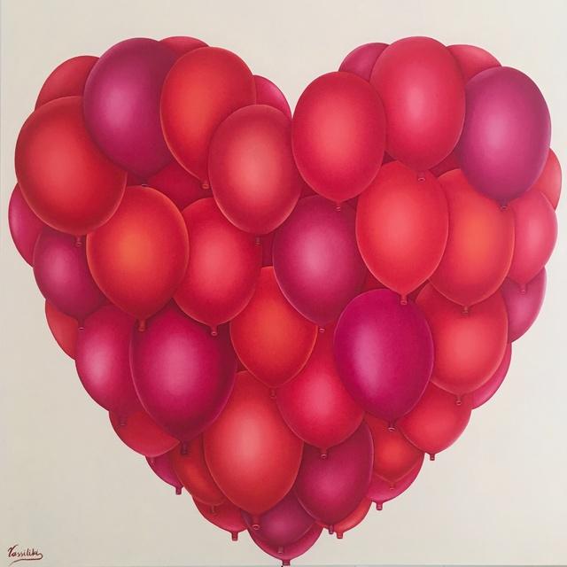 Vassiliki, 'Celebration in Red', 2017, Mamush Gallery