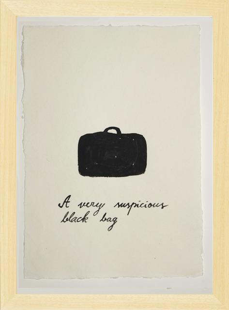 , 'Suspicious Bags: Black Bag,' 2018, Temnikova & Kasela
