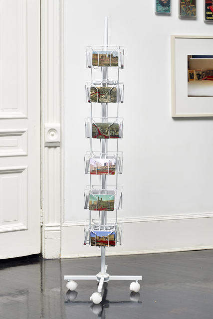 Humberto Márquez, 'Postales de Tlatelolco', 1969, Installation, Offset and serigraphic print on postcards, postcard rack, Henrique Faria Fine Art