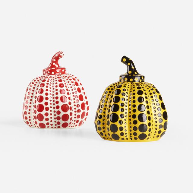 Yayoi Kusama, 'Pumpkins, set of two', 2015, Wright