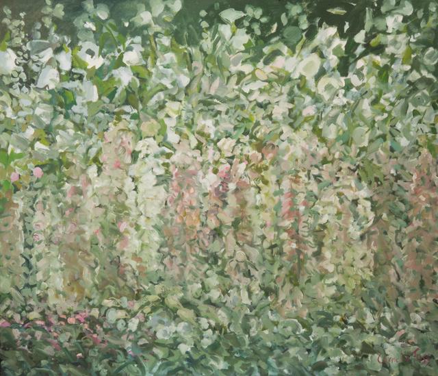 , 'Hollyhocks and Foxgloves,' 2012, MM Fine Art