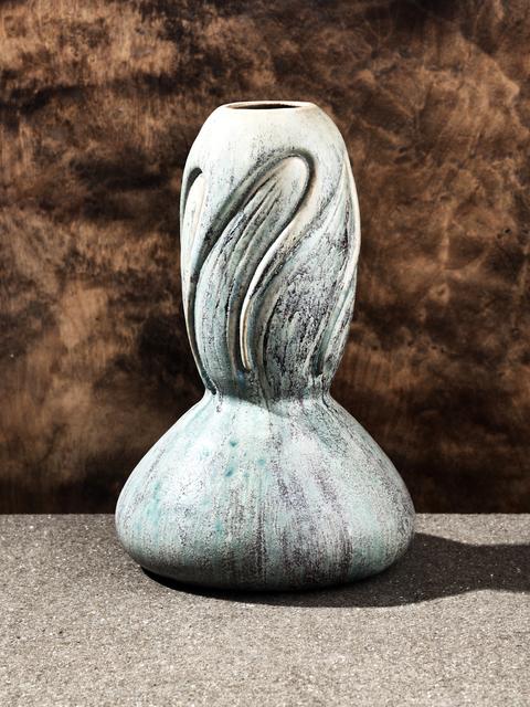 Pierre Adrien Dalpayrat, 'Swirling Vase ', 1900, Jason Jacques Gallery