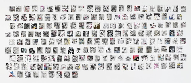 , 'Drawings Made Around the Time I Became a Porn Star,' 2008, Fabien Castanier Gallery