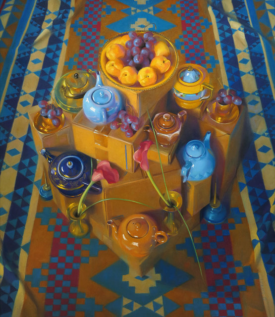 Janet Monafo, 'Red Globes and Apricots', 2002, Vose Galleries