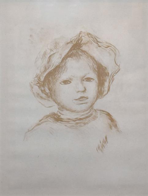 Pierre-Auguste Renoir, 'Pierre Renoir, De Face', 1893, Georgetown Frame Shoppe