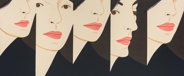 Alex Katz, 'Vivien X 5', 2018, Meyerovich Gallery
