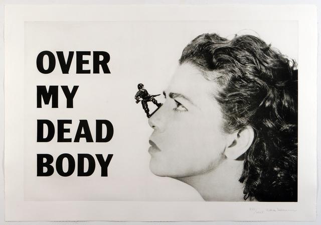 Mona Hatoum, 'Over My Dead Body', 2005, Print, Heliogravure, Alexander and Bonin