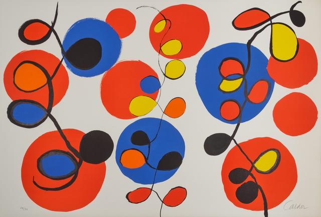 Alexander Calder, 'Beaucoup de couleurs', Hindman