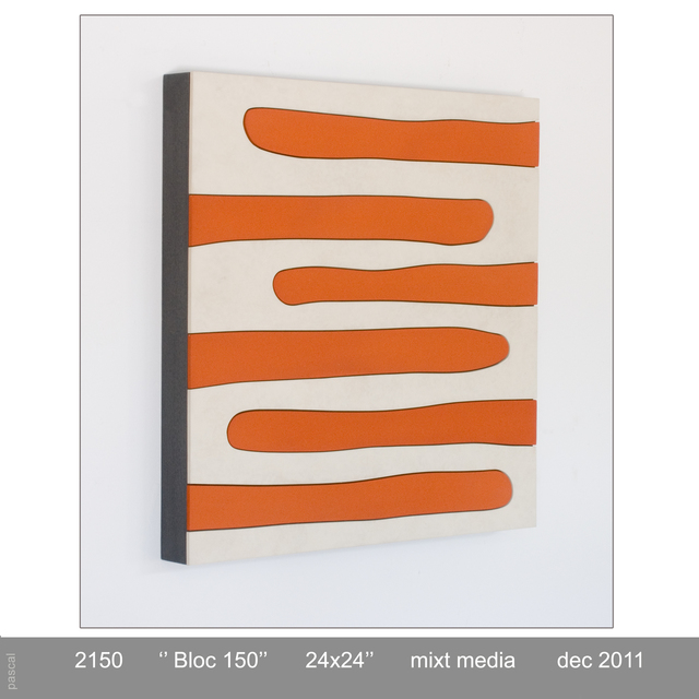 , 'BLOC 150,' 2011, GF Contemporary