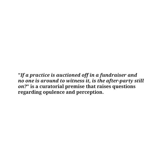 , 'Auction A Practice,' , Sabrina Amrani